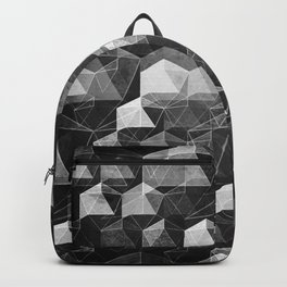 as the curtain falls (monochrome series) Backpack