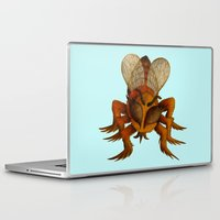 bee Laptop & iPad Skins featuring bee by giol's
