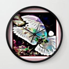 Bird Models: Majestic Dove 01-01  Wall Clock