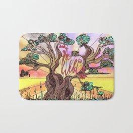 Drink the Wild Air by Rosemary Knowles, aka MaxillaMellifer Bath Mat