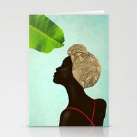 wasted rita Stationery Cards featuring Rita by Mariona Lloreta