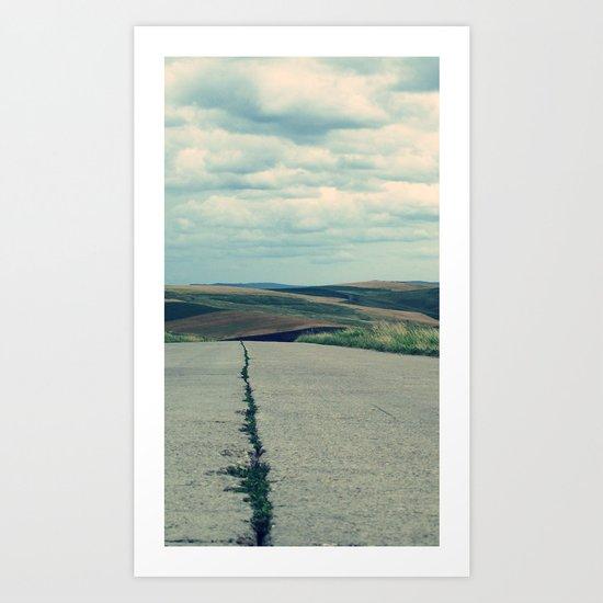 Country road Art Print