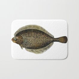 European Flounder Bath Mat