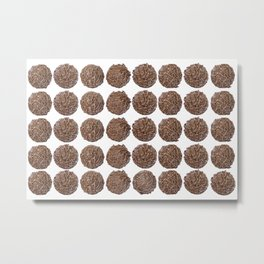 chocolate truffle #society6 #decor #buyart Metal Print