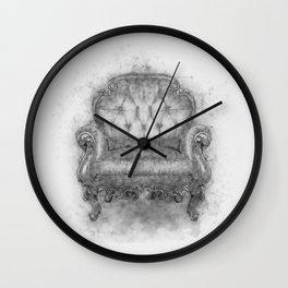 Sit a Bit! Wall Clock