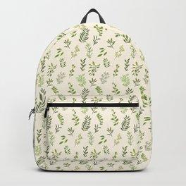 Leaf Pattern Backpack