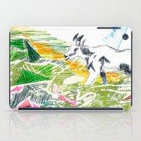 goat iPad Cases featuring Goat by Kirsten zuiderbaan