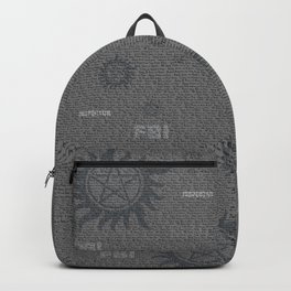 Dean and Sam Aliases Backpack