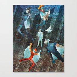 SILVERHAWKS Canvas Print