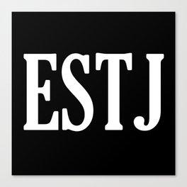 ESTJ Personality Type Canvas Print