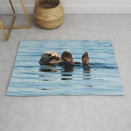 Sea Otter Rug