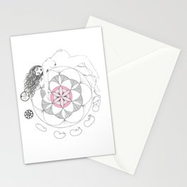 The Womb of Life Stationery Cards