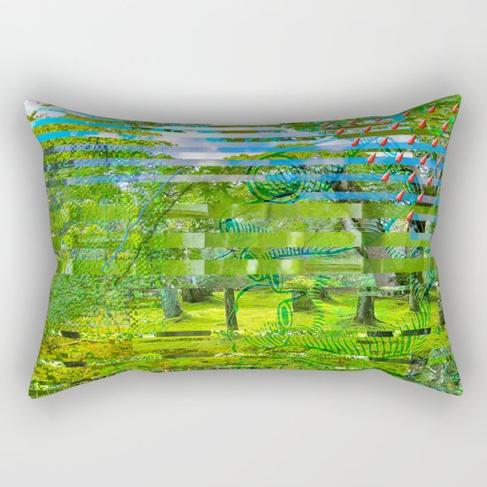 Landscape of My Heart (4 as 1) Rectangular Pillow
