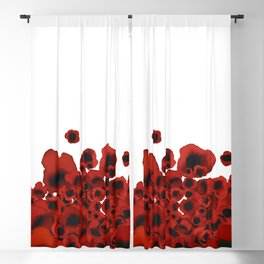 Poppies Blackout Curtain