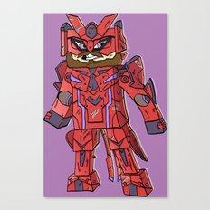 Phantasy Block - Minecraft Avatar Canvas Print