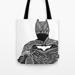 Knight of Night Tote Bag