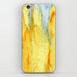 Earth toned abstract iPhone Skin