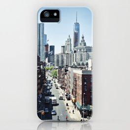 Contrasts iPhone Case