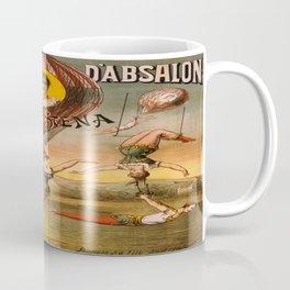 Vintage poster - Descente D'absalon Coffee Mug