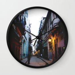 AROUND THE WORLD // LA HABANA II Wall Clock