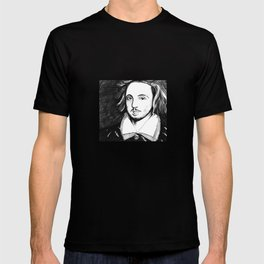 Christopher Marlowe Portrait T-shirt