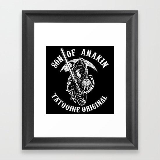 Son of Anakin Framed Art Print