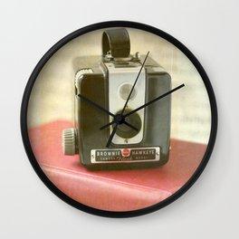 Vintage Brownie Camera Wall Clock