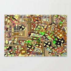 Grid parts2  Canvas Print