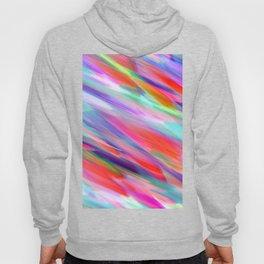 Colorful digital art splashing G399 Hoody