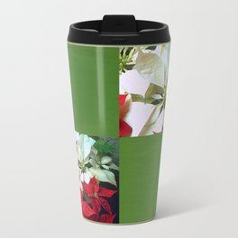 Mixed color Poinsettias 1 Blank Q5F0 Travel Mug