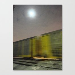 Take A Fast Train Canvas Print
