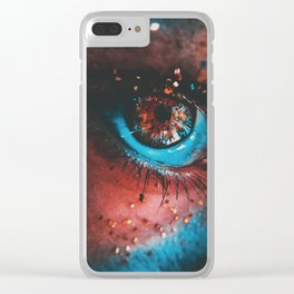 Clean light Clear iPhone Case