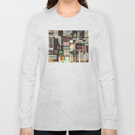 Cassettes, VHS & Games Long Sleeve T-shirt