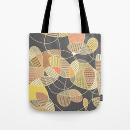 Tangled (grey version) Tote Bag