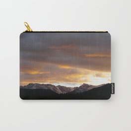 Sunset on Trail Ridge 3 Carry-All Pouch