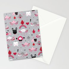 Bloody Family pattern Stationery Cards