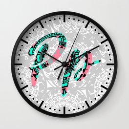 P Wall Clock