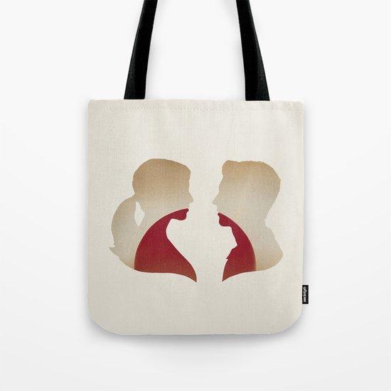 Love & the Setting Sun Tote Bag