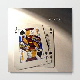 BlackjackII Metal Print