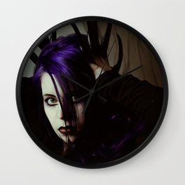 Creature of evil Wall Clock