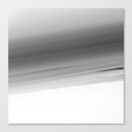 Gray Smooth Ombre Canvas Print