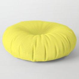 Banana Yellow - solid color Floor Pillow