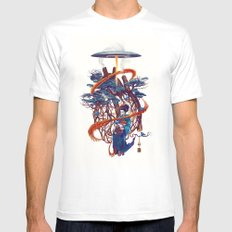 Pine container MEDIUM White Mens Fitted Tee