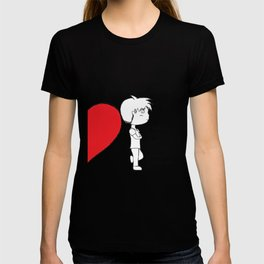 ...While Loving Someone Deeply Gives You Courage. T-shirt