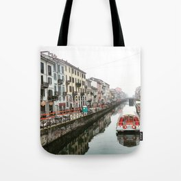 Milano Navigli - Italy Tote Bag