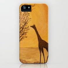 Blazing Sun with Giraffe in Shadow iPhone (5, 5s) Slim Case