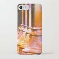 stone iPhone & iPod Cases featuring stone by Tereza Del Pilar