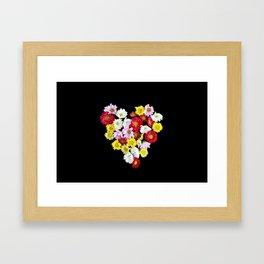 Bunch of Love  Framed Art Print