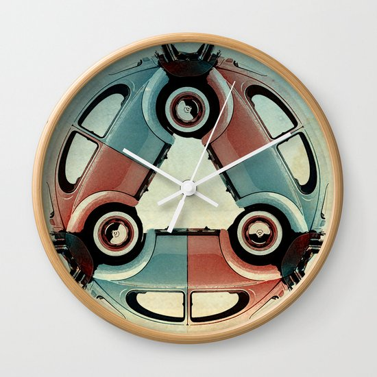 back end triangle - Bug Wall Clock