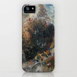 Bald Eagle on Birch iPhone Case